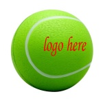 Polyurethane Tennis Stress Ball - 1 9/16