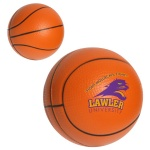 Polyurethane Basketball Stress Ball - 1 3/16