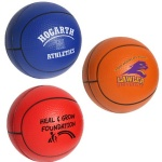 Polyurethane Basketball Stress Ball - 1 9/16