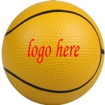 Polyurethane Basketball Stress Ball - 2 1/2