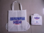 1/8 Folding 80gsm Non-woven Polypropylene Shopping Tote Bag