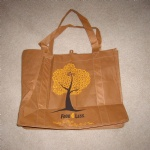 Khaki 80gsm Non-woven Polypropylene Shopping Tote Bag
