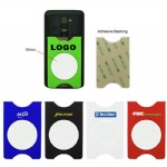Silicone Cell Phone Wallet With Mirror