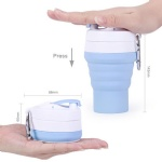 Silicone Creative Portable Flexible Coffee Cup with Multi-function for travel