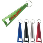 Triangular Bottle/ Can Opener Keychain (4 5/16